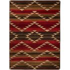 Cadnite Rumble Red Area Rug Rug Size: Rectangle 5' x 8'