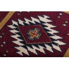 Busselton Deep Red Area Rug Rug Size: Rectangle 3' x 4'