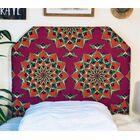 Hornung Mandala Beveled Twin/Twin XL Upholstered Panel Headboard