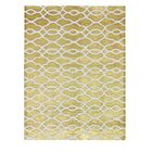 Honeycomb Gold Area Rug Rug Size: 5' x 8'