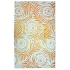 Peacock Gold Area Rug Rug Size: 4' x 6'