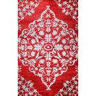 Kristi Red Rug Rug Size: Rectangle 5' x 8'