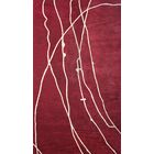 Risley Red Area Rug Rug Size: Rectangle 8' x 11'