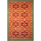 Yother Rust Area Rug Rug Size: 8'6