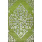 Kristi Hand-Knotted Wool Green/Gray Area Rug Rug Size: Rectangle 8' x 10'