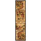 Brayton Ivory Wine Cellar Novelty Area Rug Rug Size: Runner 2'6
