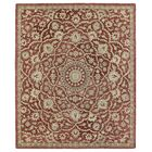 Chisolm Red Area Rug Rug Size: Rectangle 5' x 7'9