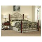 Brigitte Panel Bed Size: King