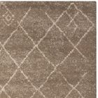 Bennett Brown Area Rug Rug Size: Square 6'
