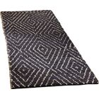 Pace Hand-Woven Black Area Rug Rug Size: Runner 2'6