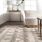 Lynch Hand Tufted Wool Ivory Area Rug Rug Size: Rectangle 5' x 8'