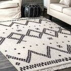 Singletary Off White Area Rug Rug Size: Rectangle 6'7