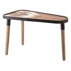 Canty Modern Arrow End Table