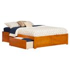 Mackenzie Storage Platform Bed Size: King, Color: Natural Maple