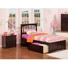 Pauline Platform 2 Piece Bedroom Set Color: Espresso, Bed Size: Full