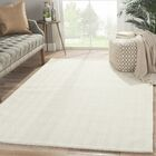 Murier Hand-Loomed Ivory/White Area Rug Rug Size: Rectangle 2' x 3'