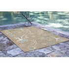 Bluegrass Jellies Hand-Tufted Beige Indoor/Outdoor Area Rug Rug Size: Runner 2' x 8'