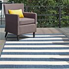 Kit Blue Indoor/Outdoor Area Rug Rug Size: Rectangle 5'3'' x 7'6''