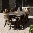 Camacho 7 Piece Dining Set Color: Tobacco Road, Table Top Size: 40.5'' H x 84'' W x 115'' L