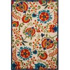 Kimbell Donohoe Beige/Green Indoor/Outdoor Area Rug Rug Size: Rectangle 5'3