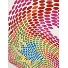 Quattrucci Red/Pink/Green Area Rug Rug Size: Rectangle 9'2