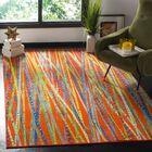 Zavala Orange Area Rug Rug Size: Rectangle 5' x 8'