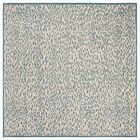 Ankit Hand Tufted Blue Area Rug Rug Size: Square6'