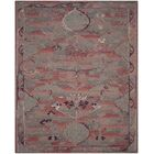 Harrelson Hand-Tufted Red Area Rug Rug Size: Rectangle 8' x 10'