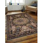 Marathon Hand-Woven Wool Blue Area Rug Rug Size: Rectangle8' x 11'3