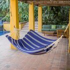 Zaria Coffee Break Camping Hammock Color: Blue