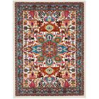 Cullens Ivory Area Rug Rug Size: Rectangle5'3
