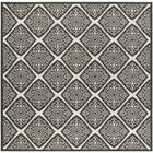 Mckinley Light Gray Area Rug Rug Size: Square 6'7