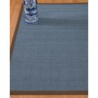 Ivy Border Hand-Woven Gray/Fudge Area Rug Rug Size: Rectangle 6' x 9', Rug Pad Included: Yes