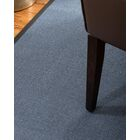 Ivy Border Hand-Woven Gray/Onyx Area Rug Rug Size: Rectangle 5' x 8', Rug Pad Included: Yes