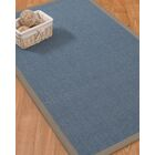 Ivy Border Hand-Woven Gray/Stone Area Rug Rug Size: Rectangle 12' x 15', Rug Pad Included: Yes