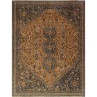 One-of-a-Kind Brook Semi Antique Hand-Knotted Wool Brown Area Rug