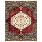 Kurtz Red Area Rug Rug Size: Rectangle 8' x 10'