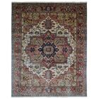 One-of-a-Kind Etchison Oriental Hand Woven Wool Red/Beige Area Rug