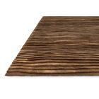 Zavala Hand-Woven Brown Area Rug Rug Size: Rectangle 5' x 7'6