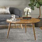 Peacham Wood Coffee Table Color: Oak