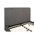 Newfane Upholstered Platform Bed Size: Queen, Color: Ivory