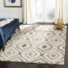 Wooster Cream/Light Blue Area Rug Rug Size: Rectangle 5' 3