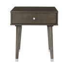 Yearby End Table Color: Gray