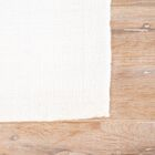 Morley Solid Ivory/White Rug Rug Size: Rectangle 8' x 10'