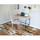 Domenic Tan Area Rug Rug Size: Rectangle 5' x 8'