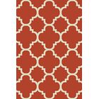 Mccampbell Terracotta Area Rug Rug Size: Rectangle 8' x 11'