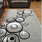 Mccampbell Gray Area Rug Rug Size: Rectangle 5' x 7'