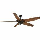 Gehl 5 Blade Ceiling Fan Motor Finish: Black