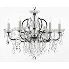 Clemence 6-Light Traditional Candle Style Chandelier