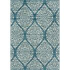 Ashleigh Baja Blue Indoor/Outdoor Area Rug Rug Size: Rectangle 3'11